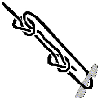 Adjustable Guyline Hitch